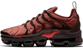 "Nike Air Vapormax Plus ""Burnt Orange"" Red Women Size 7 Brand New (AO4550-201) - $164.55"