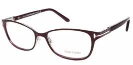 New Tom Ford TF5282 048 52MM Violet Metal Eyeglasses FT5282 W/Brand Case - $132.06