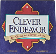Clever Endeavor ~ The Game of Clever Clues [Brand New] Deluxe Edition  - $33.90