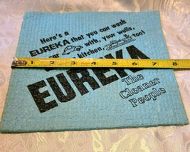WETTEX Eureka The Cleaner People Advertising Chamois - Sweden image 3