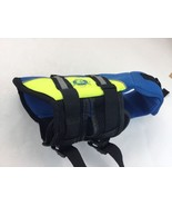 Paws Aboard Doggy Life Jacket Extra Small Safety Blue Yellow XS Dog Pet ... - $18.69