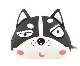 PANDA SUPERSTORE Cute Cartoon Lovely Husky Series Car Headrest/Car Neck Pillow,