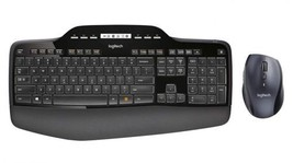 Logitech MK710 Wireless Keyboard and Mouse Combo — Includes Mouse, Styli... - $79.78