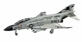 Hasegawa 1/48 US Navy F-4J Phantom II w / one-piece canopy plastic model PT6 - $30.82