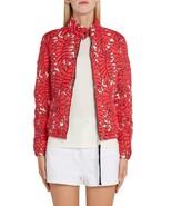 Moncler Lisbonne Jacket Coat Down Puffer Coat Palm Leaf Women's 2 Moncle... - $1,195.99
