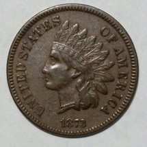 1873 Indian Head Penny / Cent Coin Lot# MZ 4709
