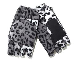 Polarex Hot Headz Fleece Glomitts, Snow Leopard - $260,94 MXN