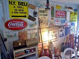 Georgia PEACH Retro License plates LOT Tags Man cave 1980s 90 decor auto... - $24.75