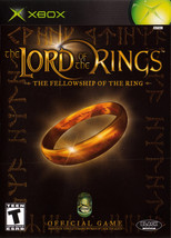 Lord of the Rings: The Fellowship of the Ring (Microsoft Xbox, 2002) - $4.00