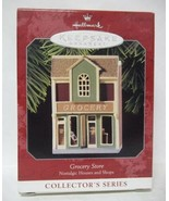 Hallmark 1998 Nostalgic Houses & Shops Grocery Store Ornament - 15th In ... - $14.03