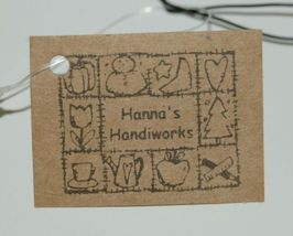 Hannas Handiworks 60650 American Flag 4 Ornament Set 2 Hearts 1 Ball Star image 4