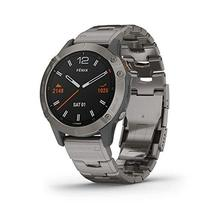 Garmin Fenix 6 Sapphire, Premium Multisport GPS Watch, features Mapping, Music,  - $999.99