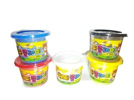 Donerland Honey Clay 5-Color Set 0.4lbs 200g (Red, Blue, Yellow, White, Black) image 3