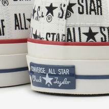CONVERSE ALL STAR 100 MANYNAME OX White Chuck Taylor Japan Exclusive image 9