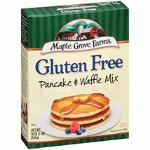 Maple Grove Farms, Pancake & Waffle Mix, Gluten Free, 16 Ounce Boxes Pack of 4