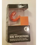 Nike Hyperstrong Mouthguard Dual-Density Protection Orange Flavor Adult ... - $20.36