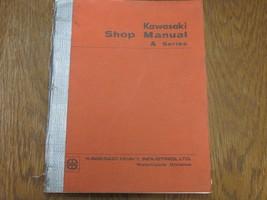 169 69 1970 70 1971 71 Kawasaki A1250 A1 250 A7350 A7 350 Shop Manual A Series - $143.52