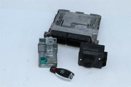 2012 Mercedes W204 C250 ECU Engine Computer EIS Ignition FOB ISL Set  image 1