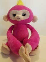 WowWee Fingerlings Hugs Bella Pink Baby Monkey Advanced Interactive Plush - $14.80
