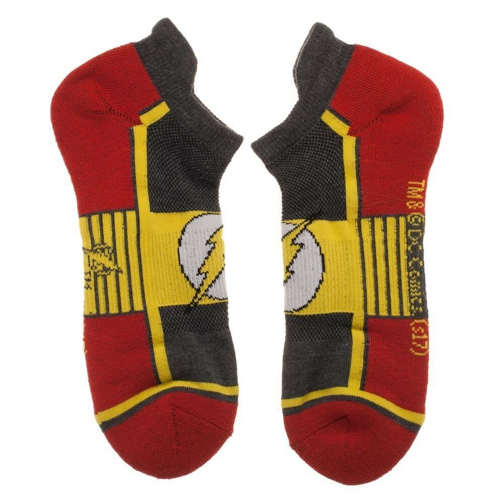 Flash DC Comics 3 Pack Athletic Active Ankle Socks Nwt