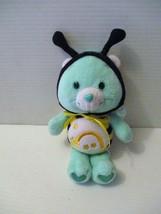 2005 Care Bears Wish Bear Plush Stuffed Animal Yellow Black Bumblebee 8 ... - $15.00