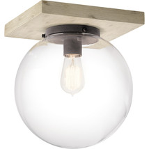 Kichler Lighting 44299WWW Flush Mounts White Washed Wood Steel Marquee - $309.99