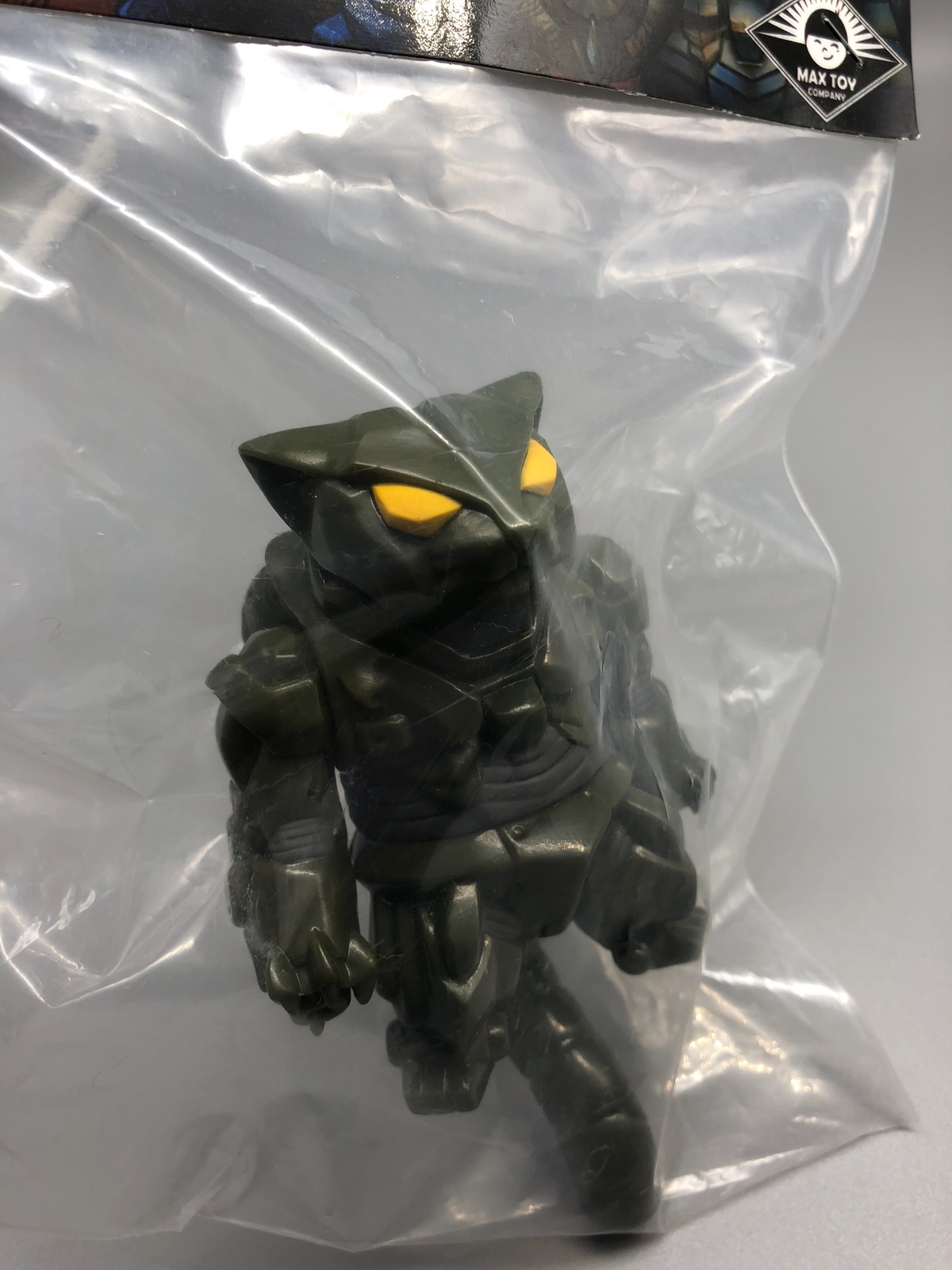 Max Toy Army Green Mecha Nekoron MK-III RARE Mint in Bag