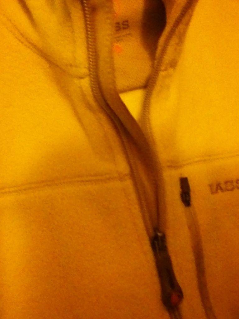 Bass WHITE XL VERY SOFT FIRM cream 3 BIG ZIPPERED POCKETS full zipper JACKET