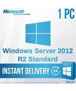 Windows Server 2012 Standard R2 - Retail License  1 User - 1 PC US - $25.99