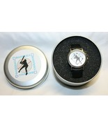 Baseball Themed Silver Colored Watch in Tin by Valdawn  BRAND NEW 2001 - $19.79