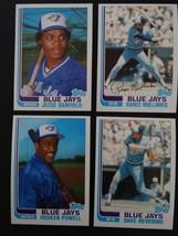 1982 Topps Traded Toronto Blue Jays Team Set of 4 Baseball Cards - $5.00