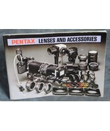 Pentax Lenses and accessories book 4.25 x 6 inches 59 pages - $3.50