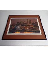 VINTAGE Ghirardelli Square San Francisco Framed 16x20 Poster Display - $79.19