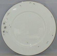 "LENOX ""SHEER BLISS"" PLATINUM SET/2 DINNER PLATES FINE BONE CHINA MADE IN USA NEW image 2"
