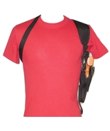 Vertical Shoulder Holster for TAURUS JUDGE PUBLIC DEFENDER POLY - $24.70