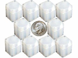 Large Dollar Square Coin Tube Storage, Numis Brand 38mm - 10 pk - $9.74