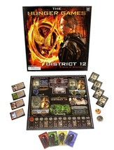 THE HUNGER GAMES BOARD GAME ( DISTRICT 12 - A GAME OF STRATEGY) Complete - $15.79