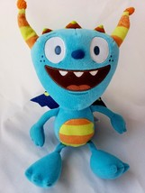 "Disney Jr Henry Hugglemonster Cobby Blue Plush Soft Toy Just Play 10"" Mo... - $8.89"