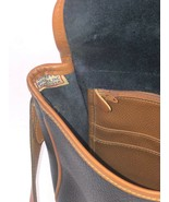 Dooney & Bourke Navy Blue All Weather Pebbled Leather Cross Body Bag Pur... - $64.34