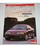 Automobile Magazine - 5 Destinations, 1998, Wilmington, Santa Cruz, Reno... - $9.78