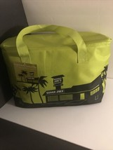 NEW Trader Joe's Large Insulated Bag Reusable Cooler Tote Green - $22.27