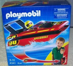 Playmobil Speedboat to go  #4341 New - $8.50
