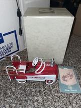 Kiddie Car Classics 1955 Murray Fire Truck QHG9001 Limited Edition Mint New - $34.99