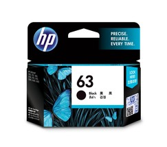 Black Ink - HP 63 Standard Ink Cartridge (for OfficeJet 3830/4650) - $36.99