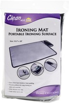 """Innovative Home Creations Ironing Mat W/Silicone Pad-19.5""""X28"""" - $18.67"""