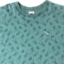 Vintage Anvil Frog Green T Shirt Men S/S Made In USA 100% Cotton Adult Size XL - $29.99
