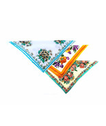 Lot of Three (3) 1940s Shabby Cottage Chic Flower All Linen Handkerchief... - $32.90
