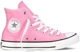 Women Converse Chuck Taylor All Star High Top Pink M9006C - $857,54 MXN