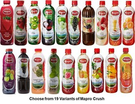 Mapro Crush Choose from 19 Variants Drink Liquid Concentrate from India image 1
