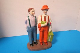 American Traditions Handpainted Ceramic Figurine Growing Up Alco In Orig... - $19.79